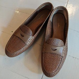 Brooks Brothers leather penny loafers size 8